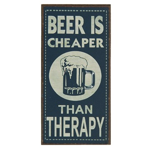 Magneet, beer is cheaper than therapy