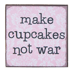 Magneet, make cupcakes not war