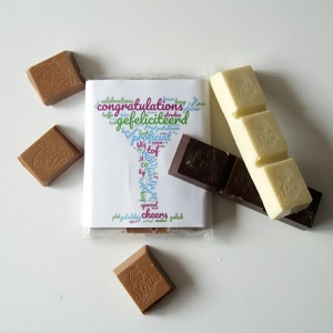 Chocolade, Gefeliciteerd