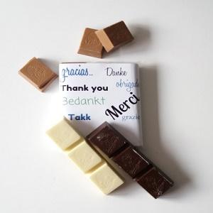 Chocolade, Bedankt
