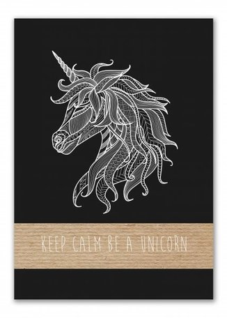Unicorn, A4 notitieblok