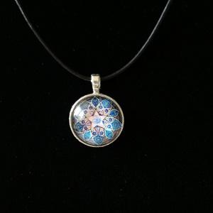 Mandala (lederen) ketting, Bohemian