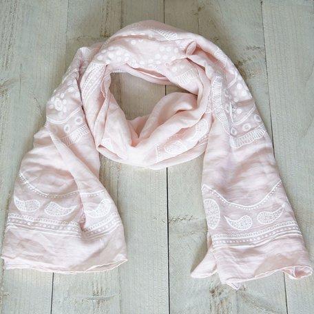 Sjaal, roze