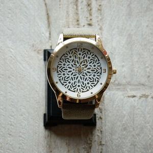 Horloge groen/bruin