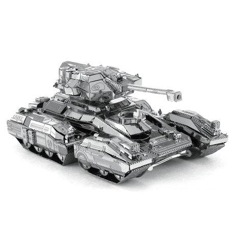 3d puzzel metaal, tank