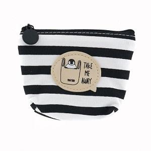Zwart wit (portemonnee) pinquin