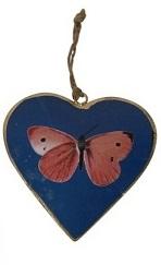 2 metalen harten