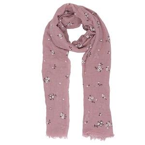 Sjaal met bloemetjes
