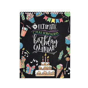 The Ultimate Chalkboard Birthday Calendar