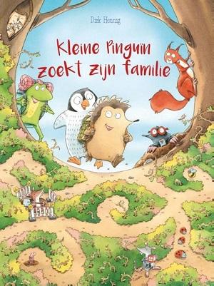 Kleine Pinquin zoekt zijn familie