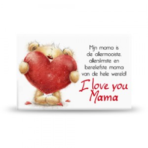Magneet, i love you mama