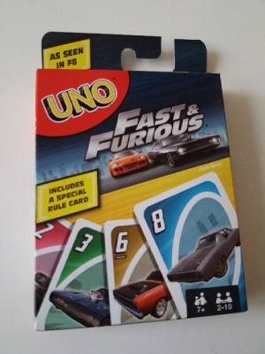 Uno, fast & furious