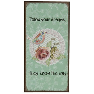 Magneet Follow your dreams ..