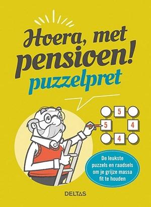 Hoera, met pensioen! puzzelpret