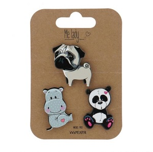 Applicatie pin set, Panda