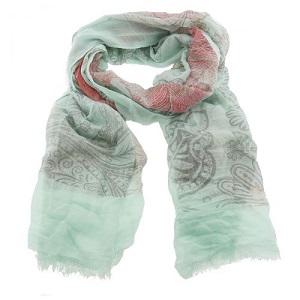 Sjaal, groen