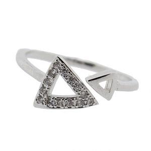Ring, zilverkleurig