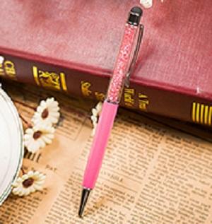 Stylus en pen, roze