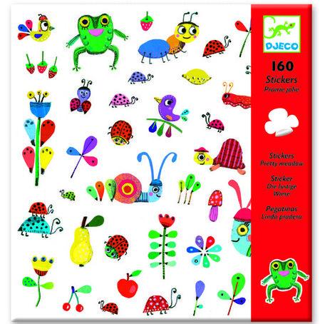 Djeco - 160 stickers bonte weide