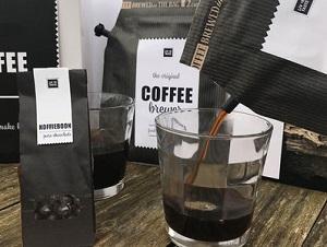 Coffee giftset met (chocolade)koffieboontjes