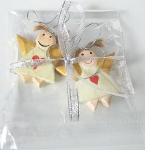 Engeltjes van hout