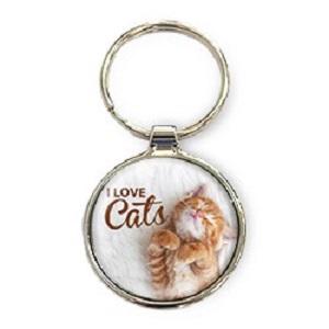 Sleutelhanger, I love cats