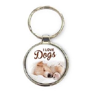 Sleutelhanger, I love dogs