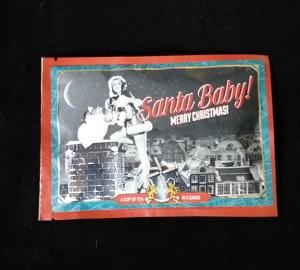 Postkaart met losse thee (Merry Christmas)