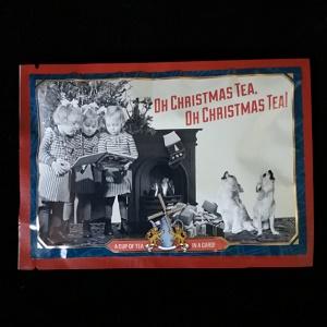 Postkaart met losse thee (Oh christmas Tea)