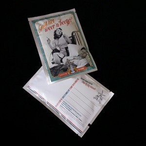 Postkaart met losse thee (Gaat het weer 'n beetje?)