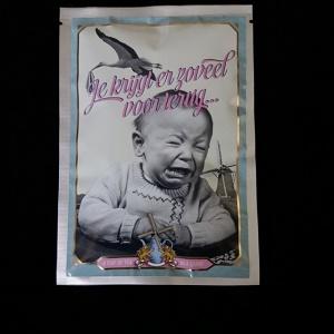 Postkaart met losse thee (Je krijgt er zoveel voor terug...)