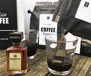 Italian Coffee giftset met 2 glazen