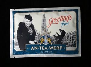 Thee, groetjes vanuit Antwerpen (AN-TEA-WERP)