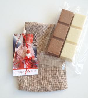 Chocolade, Sinterklaas