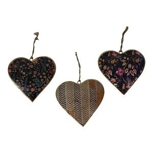 3 metalen harten
