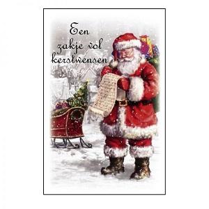 Een zakje vol kerstwensen