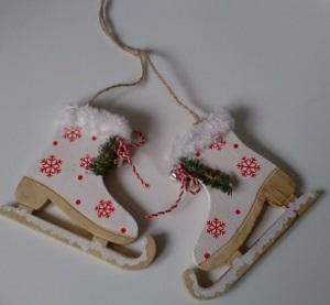 Schaatsen, kersthangers