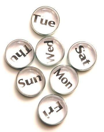Week magneten