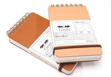 Schrijf/notitieboekje Grain