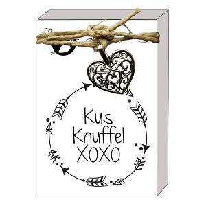 Kus, knuffel, xoxo