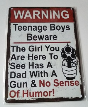 Bordje, WARNING teenage boys beware.....