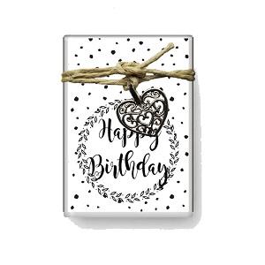 Happy Birthday (zeepjes)