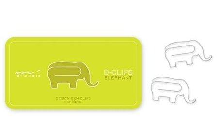 Paperclips Olifant