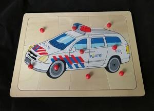 Puzzel politieauto