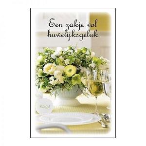 Een (geur)zakje vol huwelijksgeluk