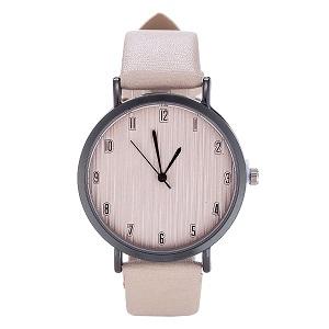 Horloge, beige
