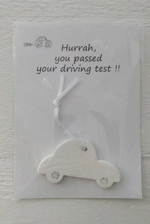 Kaart, Hurrah, you passed your driving test!!