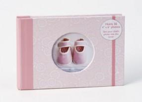 Baby fotoalbum roze
