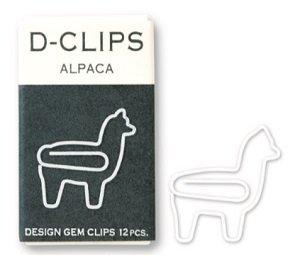 Paperclips alpaca