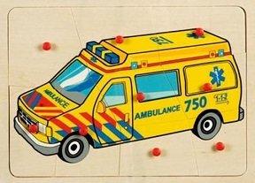 Knopjespuzzel ambulance
